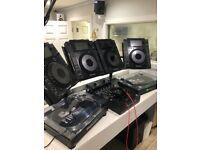 2 pioneer cdj 900 nxs with full service