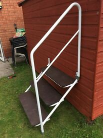 Caravan steps 2 months old excellent condition £60 ONO buyer collect