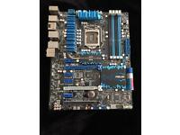 Asus P8Z77-V Deluxe LGA1155 Intel z77 DDR3 ATX Motherboard