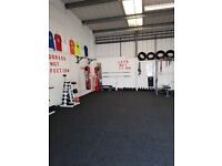 Fitness studio for hire