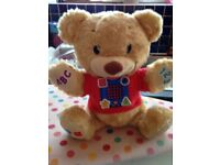 Fisher price cuddly bear