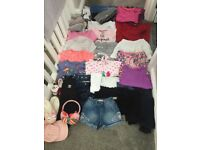 Bundle of girls clothes age 6