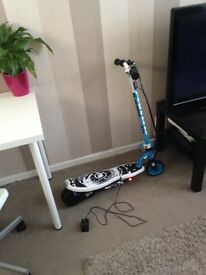 Electric scooter for sale. Used once. Immaculate condition. Comes with charger. Good speed.