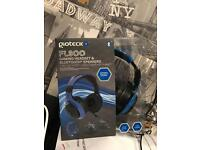 Xbox/PS4 headset blue