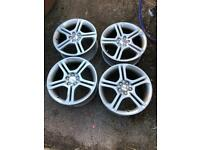 Seat Ibiza fr alloy wheels 17""