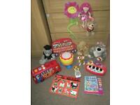 Toys bundle(soft/interactive sound musical toys..)