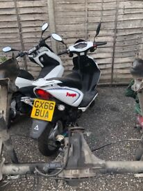 Cheap moped it's coming up to its first m.o.t runs spot on clean bike first to see will buy