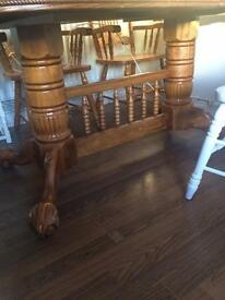 Free table & chairs, ideal chic project