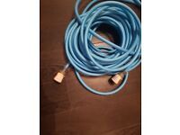 Garden hose with adaptors