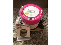 Pink Karaoke Machine