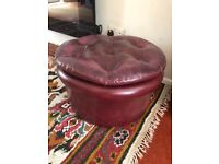 CHESTERFIELD STYLE FOOTSTOOL