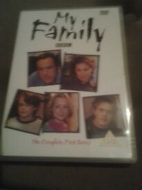 My Family Complete DVD Collection for sale.