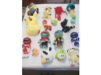 Assorted soft/cuddly toys, Pokemon, Power Rangers, Ninja Turtles, Angry Birds and more!