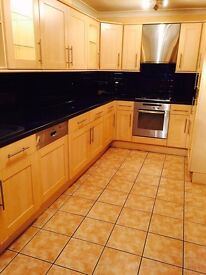 Very spacious 2 double bed flat with garden.