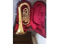Nearly New Eb Tuba - With Case and Mouthpiece