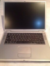 Apple PowerBook G4 15-Inch Model M5884- For Parts/Repair