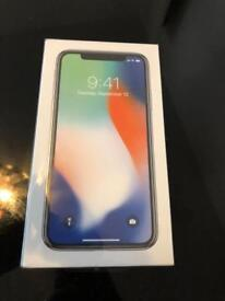 Brand New Unopened IPhone X Silver 64GB on Vodafone For Sale !!!,