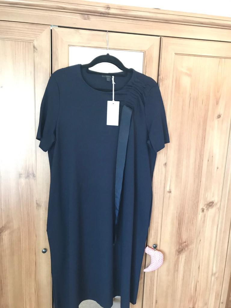 Cos Dress - Casual Navy Dress Brand New Tags Still Attached - Bargain