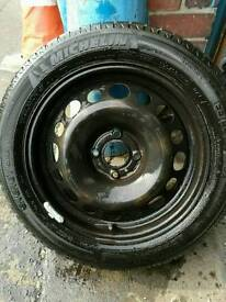 MichelinTyre with alloy very goodcondition