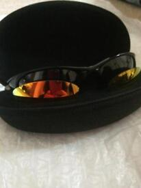 SOLD Oakley 1/2 Jacket 3 lenses 1 set Golf specific