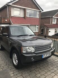 STUNNING 2007 RANGE ROVER VOGUE, FSH DRIVES WITHOUT FAULT, REVERSING CAMERA SWAP PX CONSIDERED