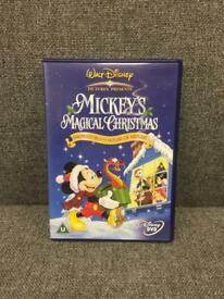 Micke Mouse Mickey's Magical Christmas Disney DVD Gift SDHC