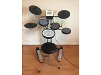 V-Drums Lite HD-3 almost new + stool