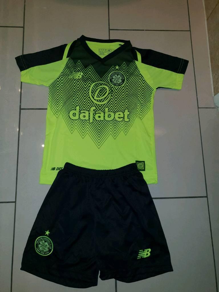 watch 33889 5f6af Celtic 3rd kit 18/19 Kids | in Pollok, Glasgow | Gumtree