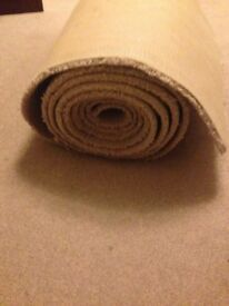 Cream/beige carpet brand new