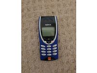 Nokia 8210e spares or repairs as no charger