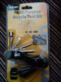 Multi purpose bicycle bike tool kit new