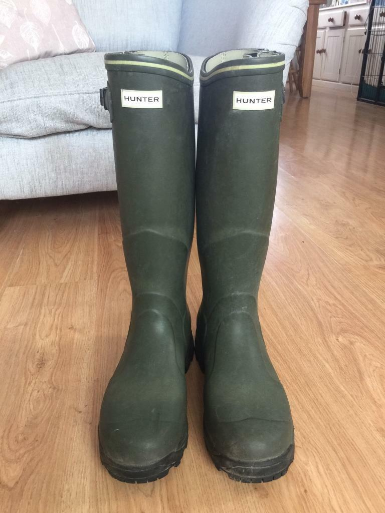 s balmoral neoprene size 10 wellington boots