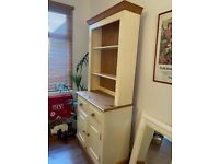 Solid oak cabinet 2m tall, excellent condition