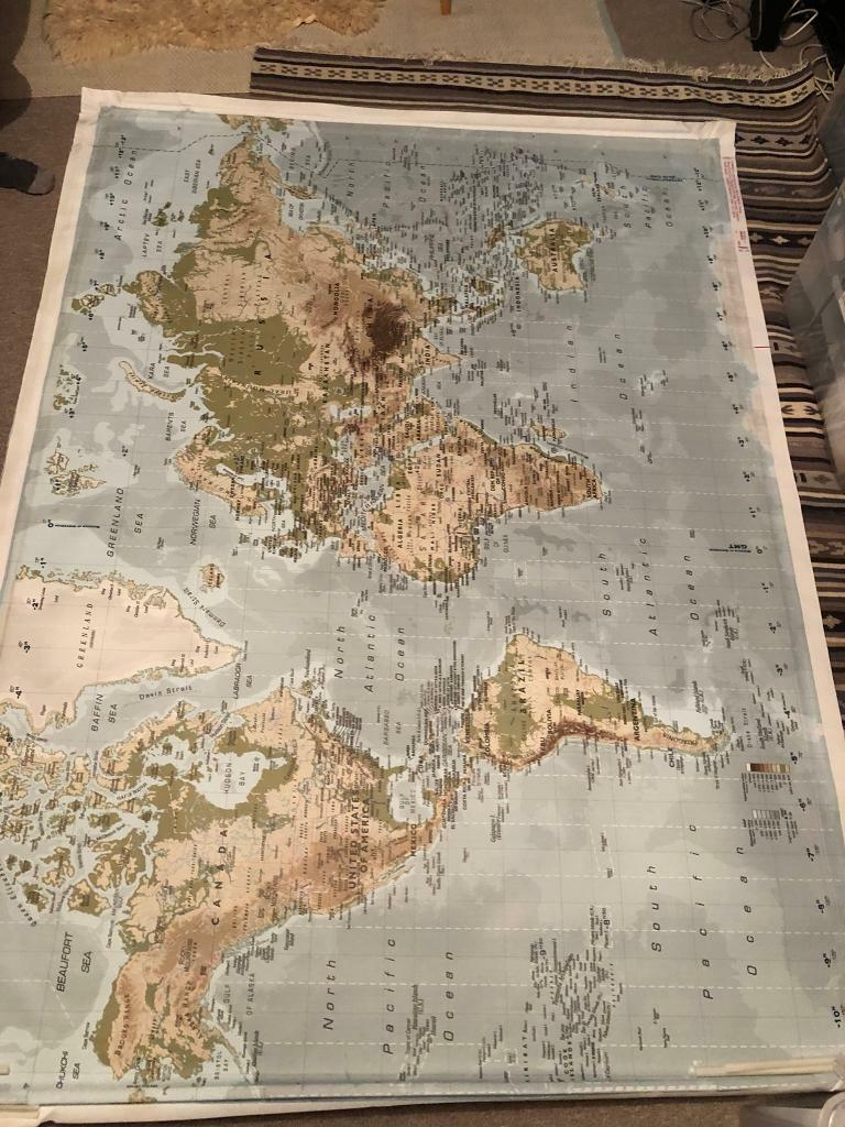 Ikea Premiar world map (Rare - now discontinued) | in Westbury Park,  Bristol | Gumtree