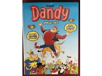 A selection of annuals Dandy, Topper, Beezer, Dennis the Menace for sale