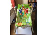 Fisher Price Rainforest Friends Infant To Toddler Rocker