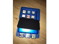 Nintendo 3ds xl + 9 games