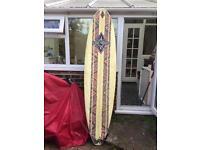 Surf board surfing 2.2m 8.6ft Minimal