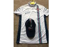 Williams martini racing top and hat