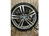 "18"" BMW 3 Series M Sport replica spare Alloy Wheel - 5x120 - Will fit 318, 320 ect F30"