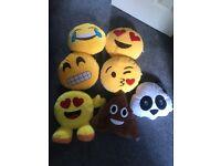 Bundle of Emoji Cushions/Pillows