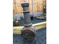 4ft Tall Cast Iron Chimenea / Log Burner- can deliver