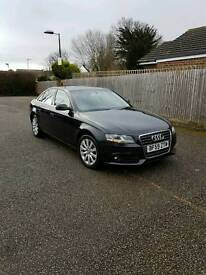 Audi a4 tdi with factory fitted satnav 59 plate