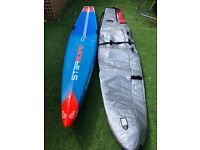 Starboard Allstar 2018 Carbon Sandwich 14ft x 24.5 ins Race Stand-up-paddleboard incl. Starboard bag