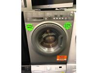 *** Grey Hotpoint 8/6kg A+ washer dryer***Free Delivery**Fitting**Removal