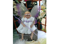 "Reborn Fairy Pixie Doll "" Rainy "" by Donna RuBert"