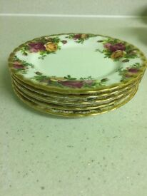 Royal Albert tea plates