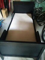 Twin Bed Frame and mattress - Like New