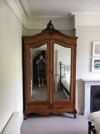 Antique French Armoire Wardrobe - £500 - pick up only