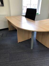 Beech Corner Manager Desk